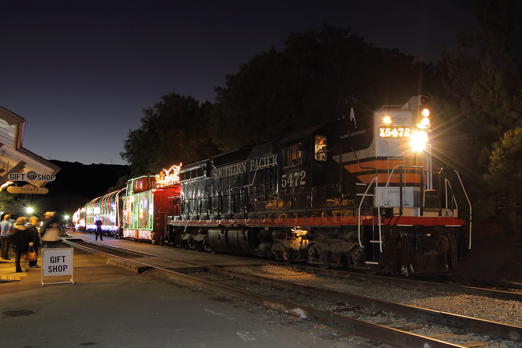 Train of Lights | Niles Canyon Railway | Fremont CA