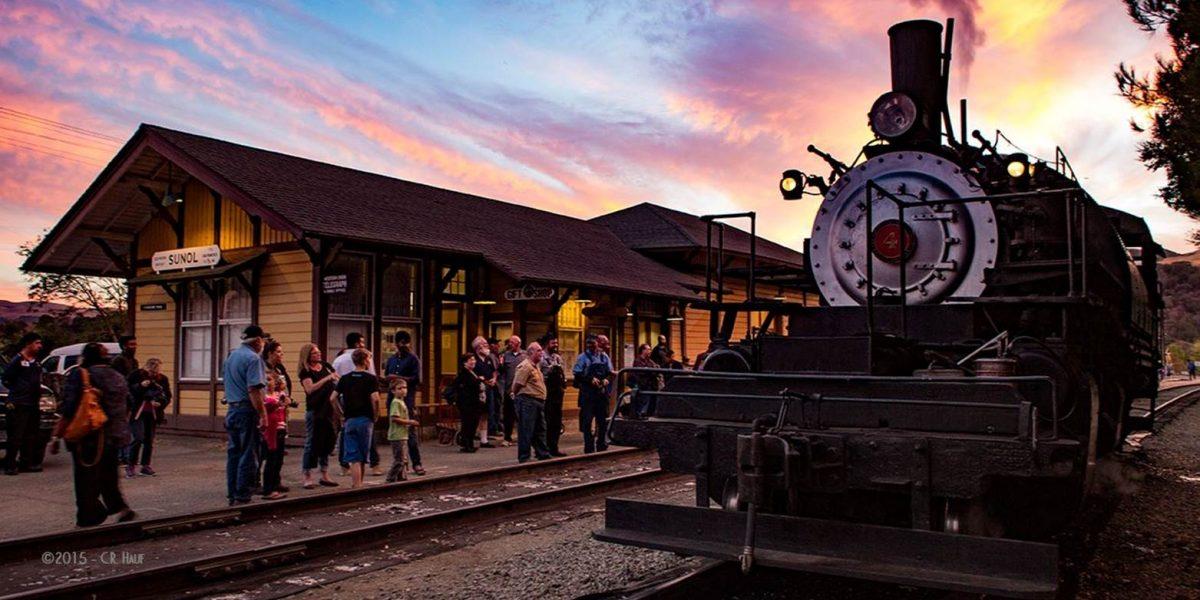 Evening Steam Ride